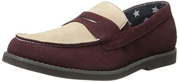 Florsheim Kids Rodeo JR Slip-On (Toddler/Little Kid/Big Kid), Raisin Multi, 2 M US Little Kid
