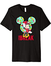 Disney Minnie Mouse Tropical Vibes Spring Break T-Shirt