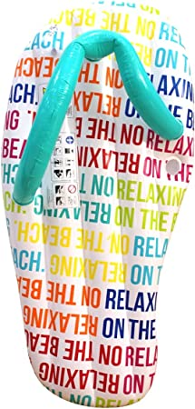 CKB LTD Text Juguete Inflable Gigante del Agua de la Cama del Aire del sofá tirón de la Piscina, Unisex, Multicolor, 1,52 m