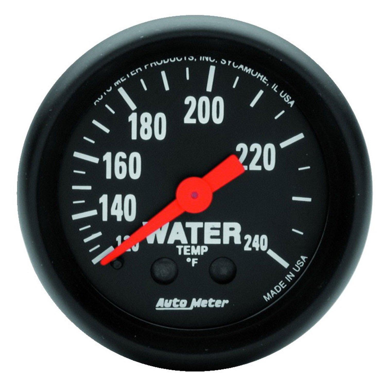 AUTO METER 2607 Z-Series Mechanical Water Temperature Gauge by AUTO METER