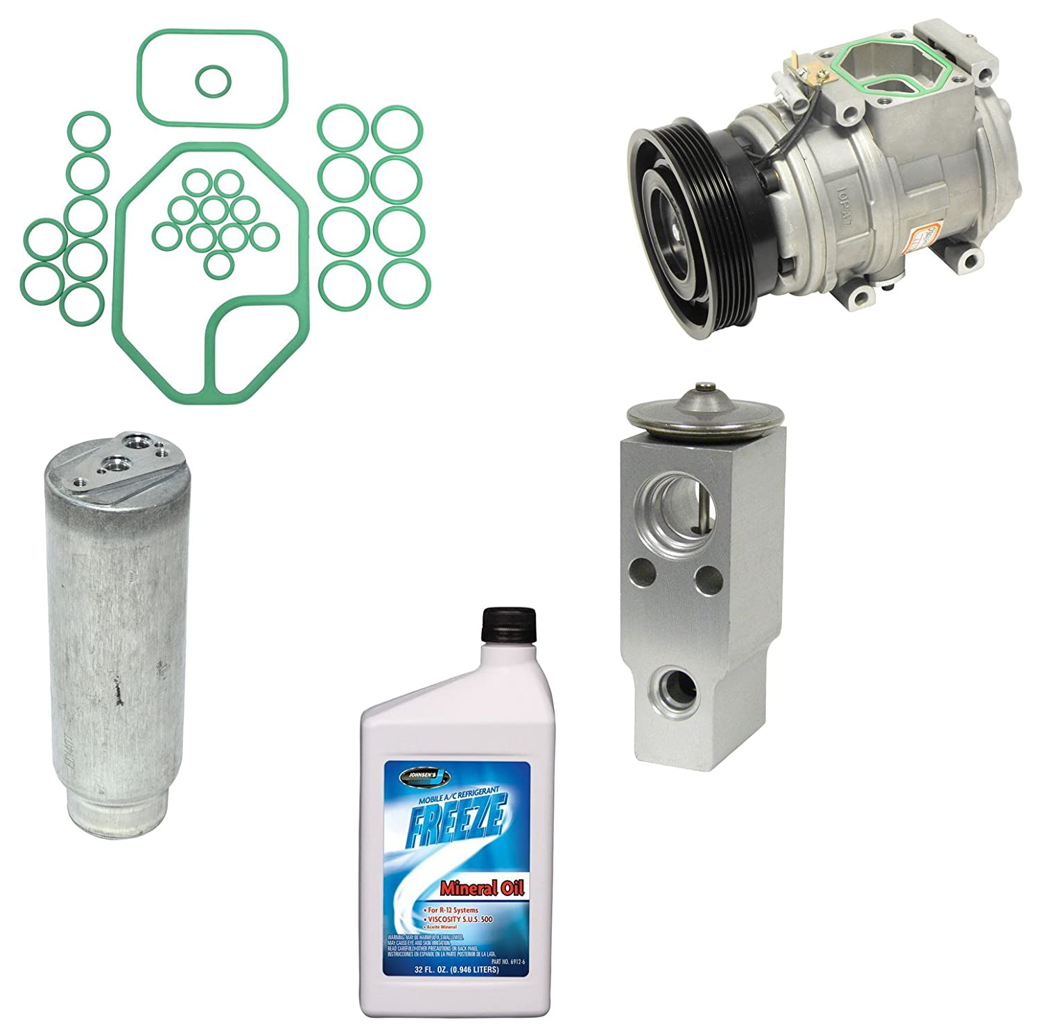 Amazon.com: Universal Air Conditioner KT 1865 A/C Compressor and Component Kit: Automotive