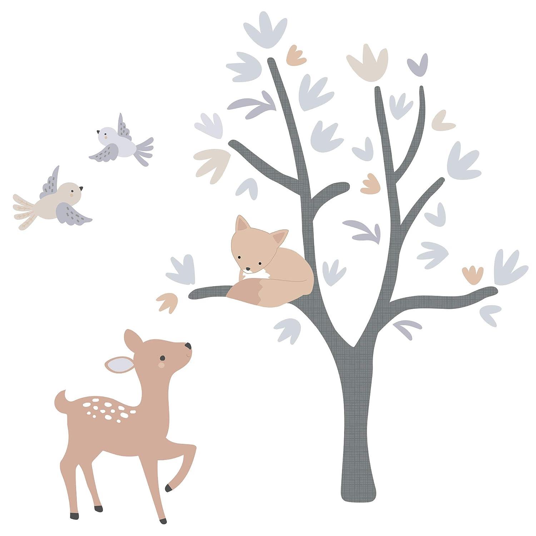 Bedtime Originals Deer Park Wall Decals, Multicolor