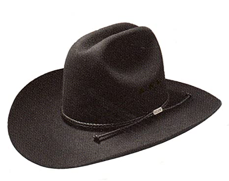 Stetson Tyler Cowboy hat worn by Garth Brooks Black at Amazon Men s ... 91b7a7a958a