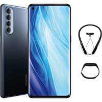 OPPO Reno4 Pro smartphone Starry Night 8GB+256GB 161g CPH2109 with Gift Box contains Bluetooth Neckband and Fitness band