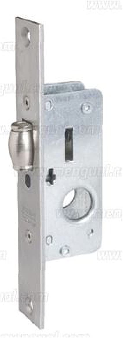 Cerradura monopunto de palaca basculante Tesa Assa Abloy 221820AI Inox entrada 20 mm