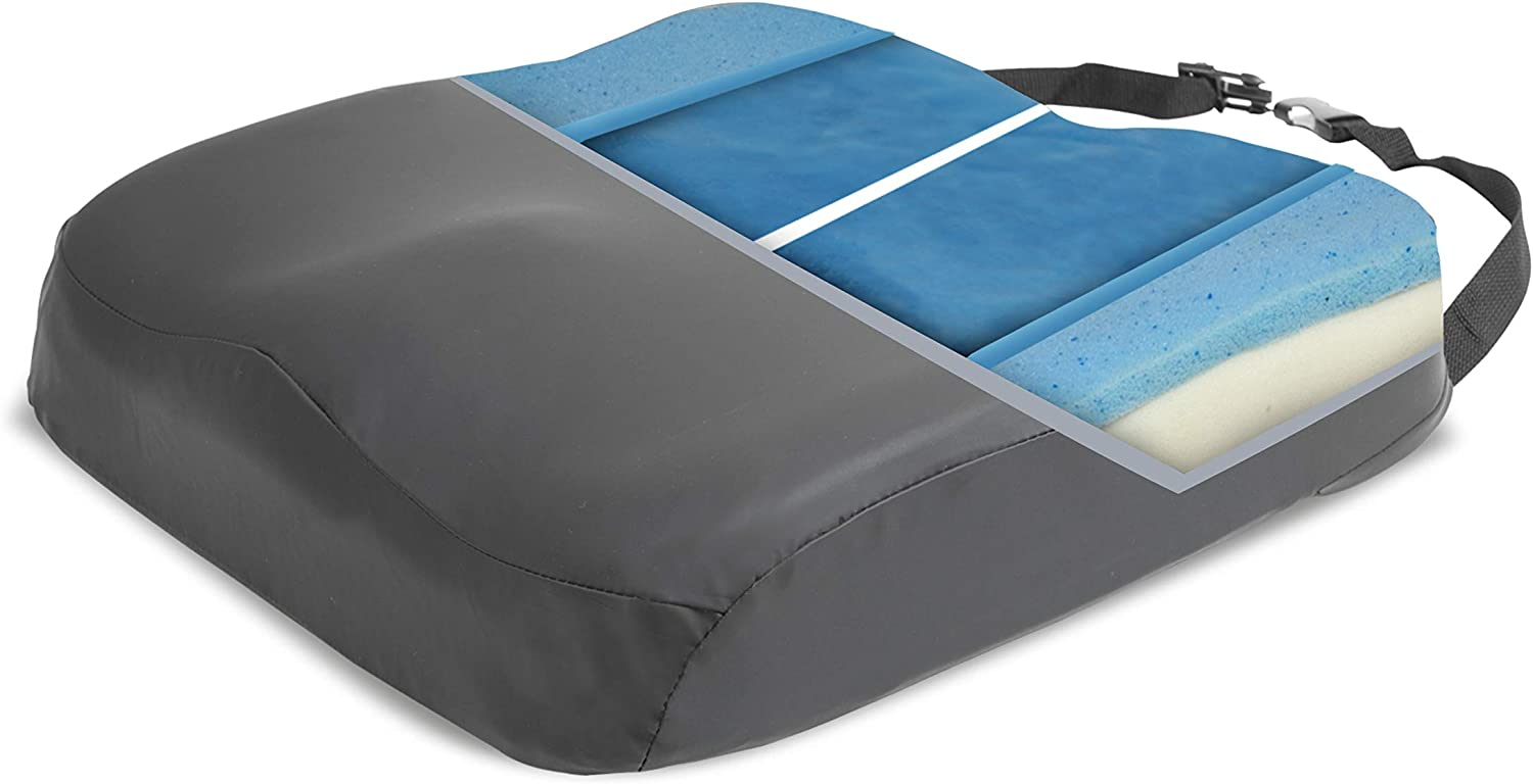 ProHeal Wheelchair Seat Cash special price Cushion Gel Orthop - Infused Foam Price reduction Memory