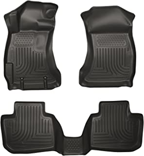 Husky Liners Front U0026 2nd Seat Floor Liners Fits 14 17 Forester