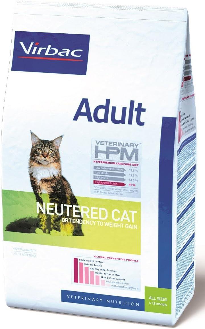 Hpm Virbac Feline Adult Neutered 7Kg 7100 g