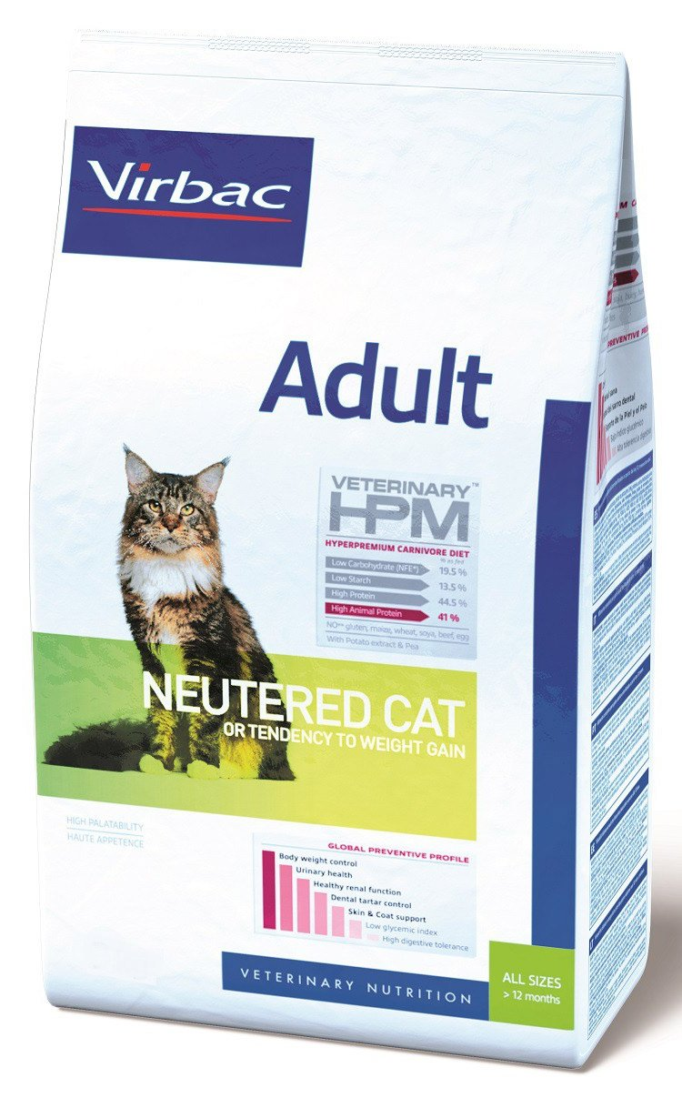 Virbac Veterinary HPM Adult Neutered Cat 1.5 kg 4910