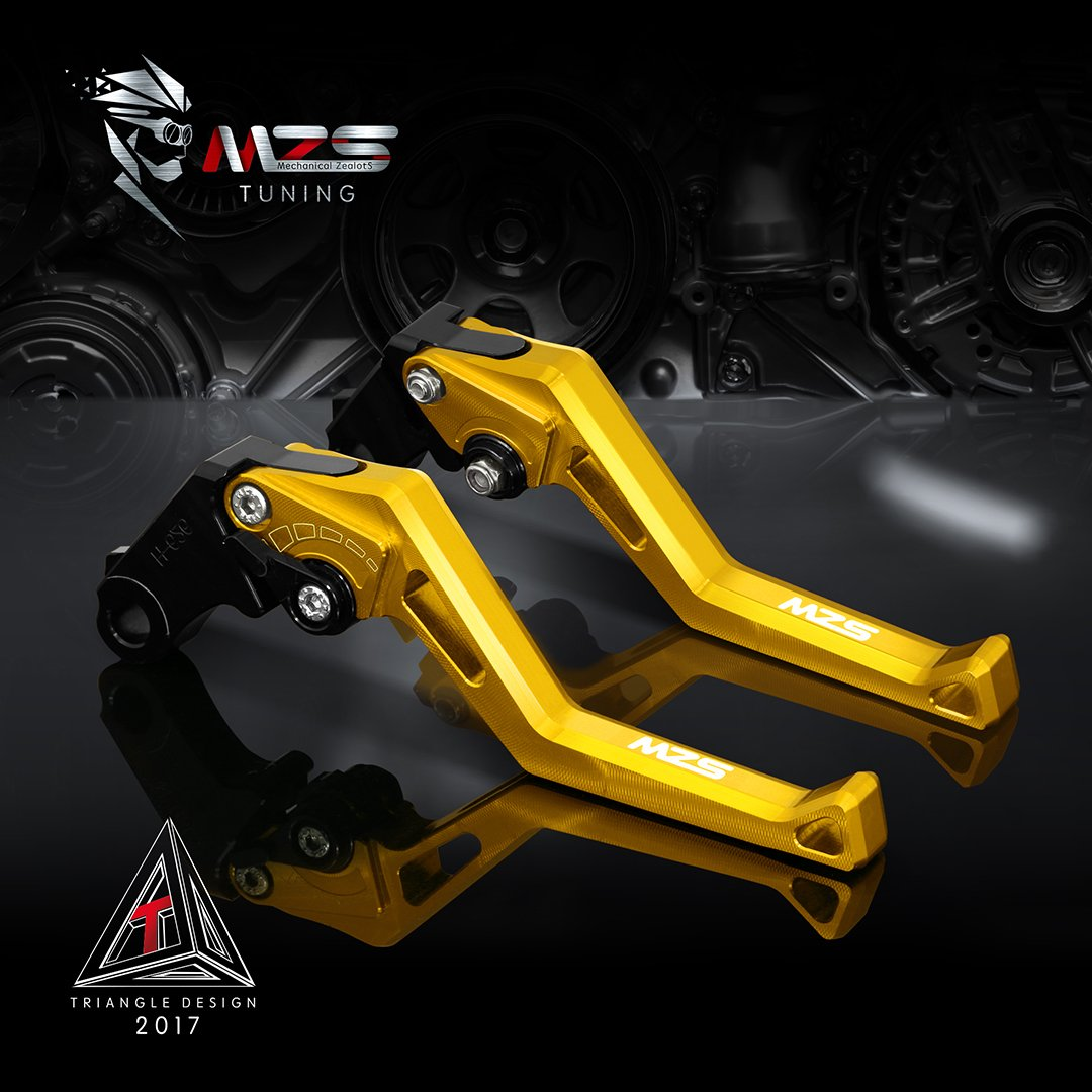 MZS Adjustment Brake Clutch Levers for BMW F800GS/Adventure