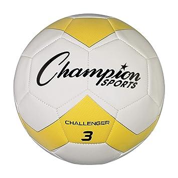 CHAMPION SPORTS Challenger Series Balón de fútbol: Amazon.es ...