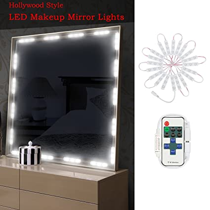 Diy makeup vanity mirror Build Your Own Hogartech Makeup Vanity Mirror Lights 10 Levels Dimmable 60 Leds 98ft Diy Led Make Implantek Stylish Small Bathroom Hogartech Makeup Vanity Mirror Lights 10 Levels Dimmable 60 Leds