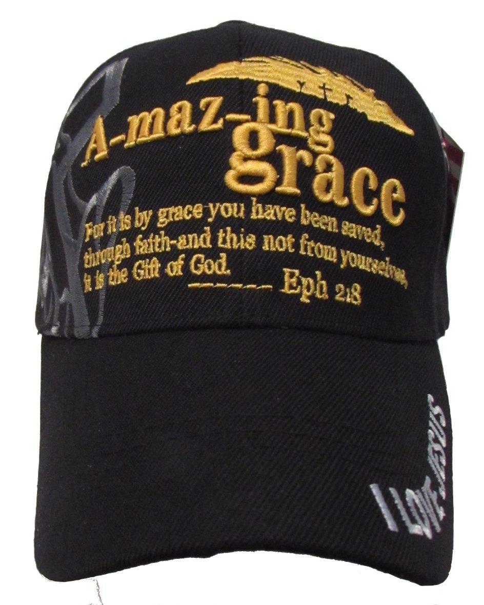 Amazon.com   USA Headwear Christian Baseball Cap 5a27298221d6