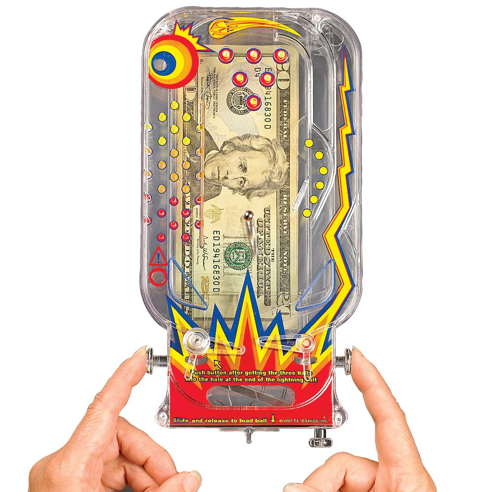 Stkertools(TM) Money Maze - Cosmic Pinball for Cash and Certificates - By Bilz., New by Stkertools