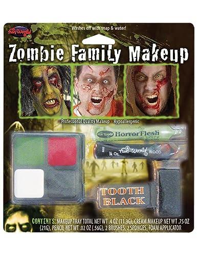 Amazon.com: Zombie Family Makeup Kit: Toys & Games