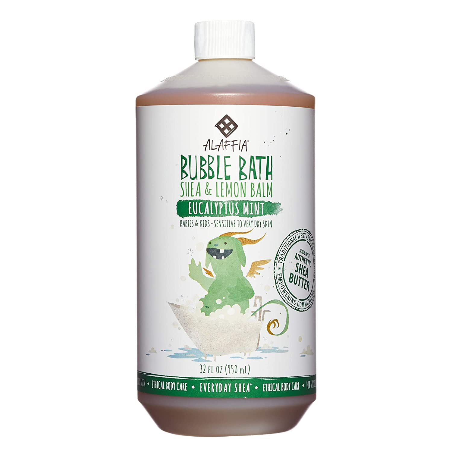 Everyday Shea Bubble Bath for Babies & Kids - Eucalyptus Mint