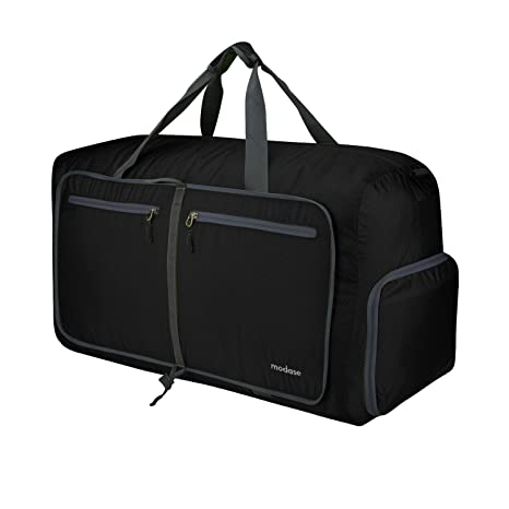 modase 80L Travel Duffel Bag Large Foldable Duffle Bag with Shoulder Straps  for Women   Men 2c3ae0cdb8