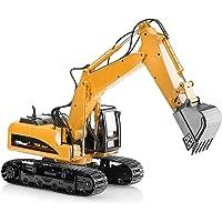 Top Race Metal Die Cast Excavator Construction Tractor