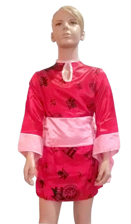 Carnaval Disfraz japonesa talla. M para niñas 7 – 8 años (Check ...