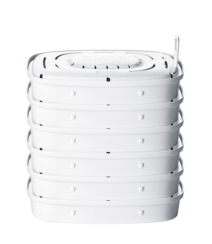 AEG 6 filtros PureAdvantage para la jarra de purificadora de agua Aquasense Electrolux NE550488231