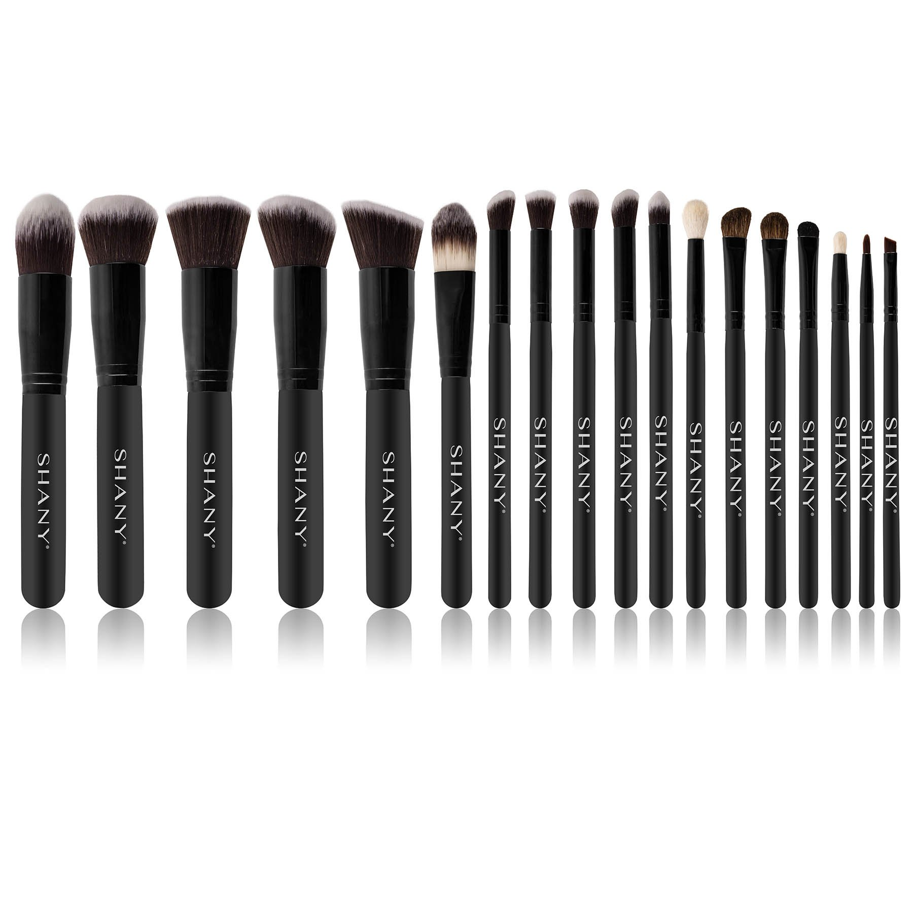 SHANY Artisan's Easel 18 Piece Elite Cosmetics Brush Collection, Black by SHANY Cosmetics (Image #3)