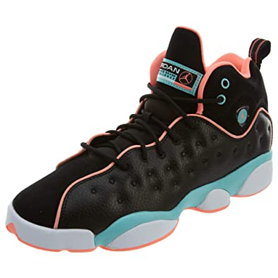 6dc9c42d82062d Jordan Jumpman Team 2 Black Crimson Pulse Light Aqua Style  820276-001 Size