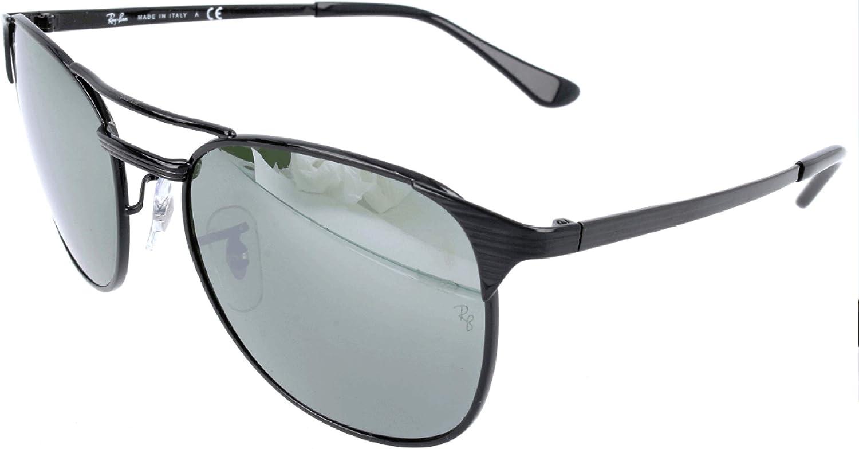 RAY-BAN RB 3429m Gafas de sol, Shiny Black, 55 para Hombre