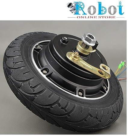 Buy Electric Scooter Hub Wheel Motor 24V 350W DC Brushless Toothless