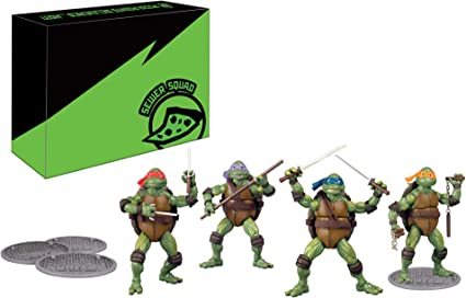 Teenage Mutant Ninja Turtles TMNT Classic Movie Figure 4pc Set