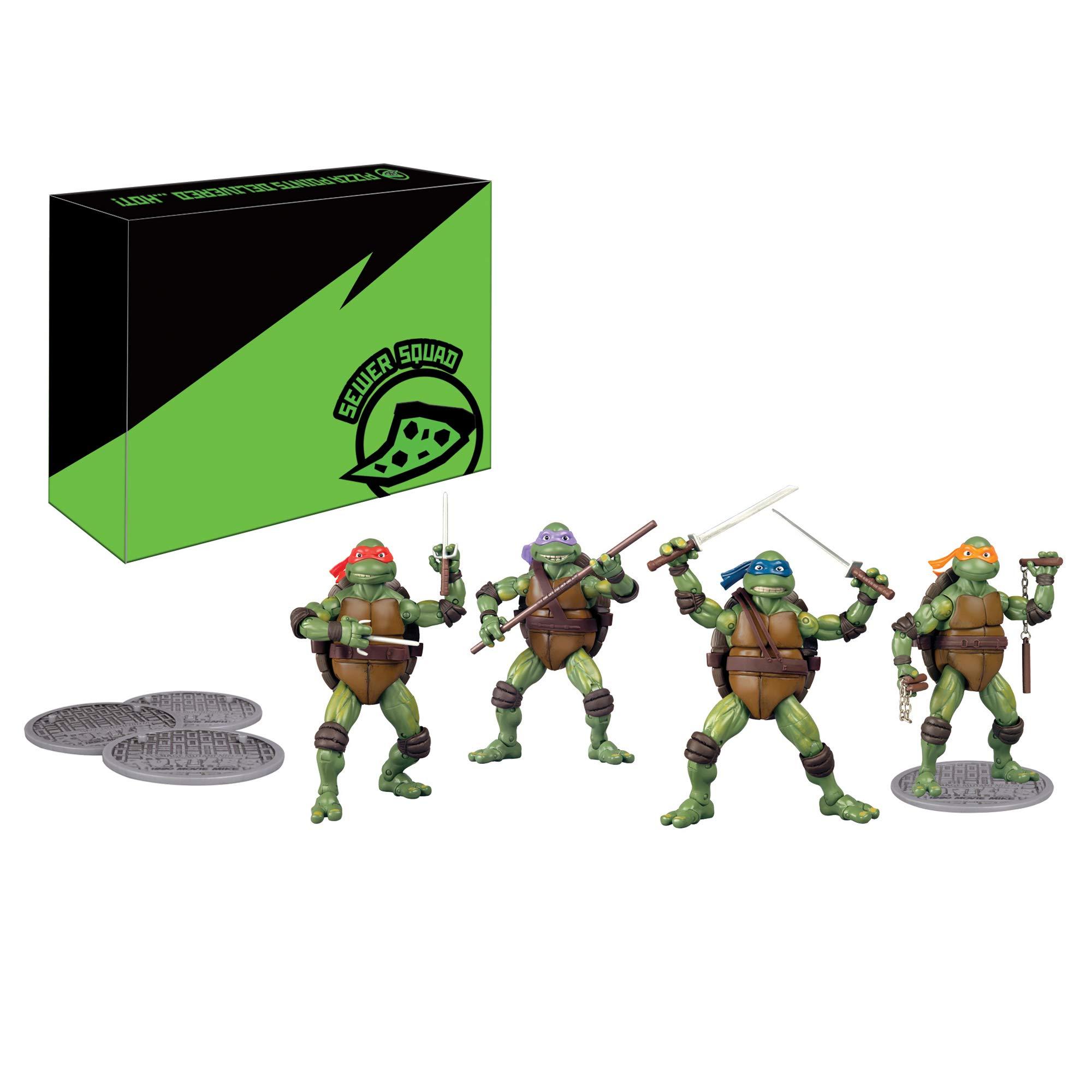 Teenage Mutant Ninja Turtles TMNT Classic MovieFigure 4pc Set