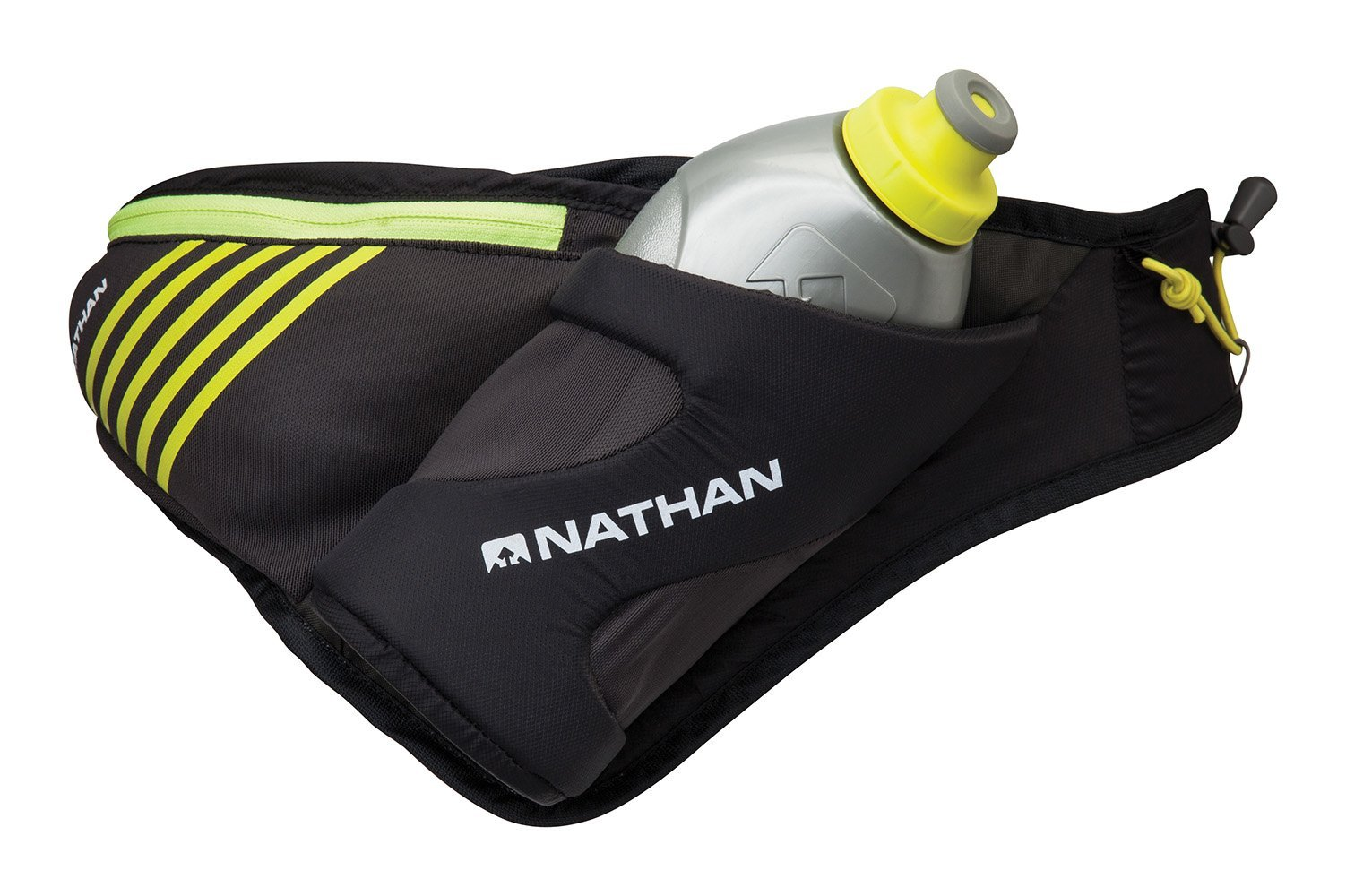 Nathan Peak Hydration Waist Pack with Storage Area & Run Flask 18oz – Running, Hiking, Camping, Cycling by Nathan (Image #1)