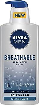 Nivea Men Breathable Body Lotion, 13.5 Ounce