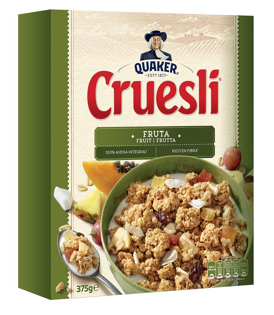 Quaker, Cereal granola (Cruesli Fruta) - 375 gr.: Amazon.es: Amazon Pantry