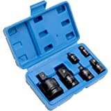 "WILMAR M795 8PC IMPACT ADAPTER SET 1//4 3//8 1//2 3//4 1/"" INCH SOCKET DRIVE ADAPTOR"