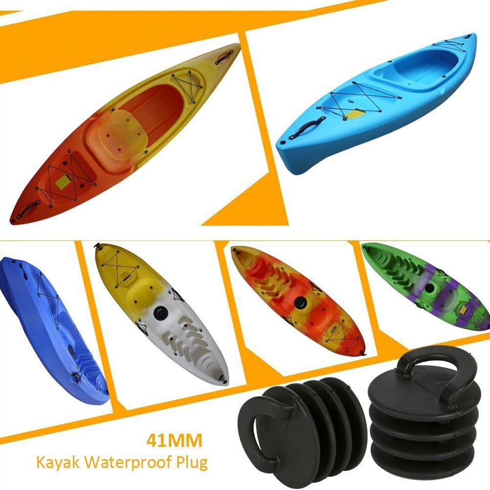 Cara Lot de 8 Bouchons de Kayak /à Propulsion Marine