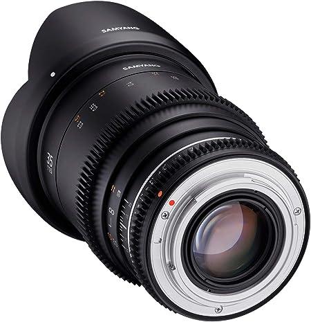Samyang Mf 35mm T1 5 Vdslr Mk2 Canon Ef Lichtstarkes Kamera