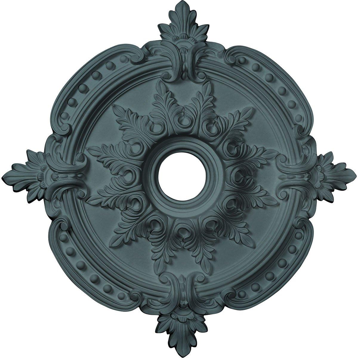 Ekena Millwork CM28BEAMF 28-3/8'' x 4-1/2'' x 1-5/8'' Benson Classic Ceiling Medallion, Americana
