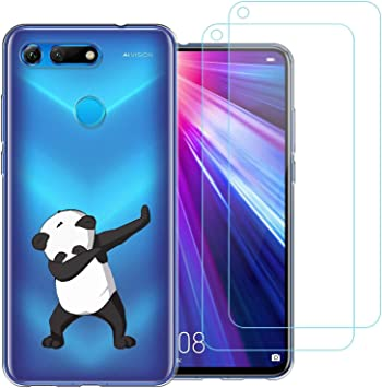 jrester Funda Huawei Honor View 20,Panda Swag Flexible Suave ...