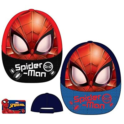 character Marvel Spiderman 'Spider-Man' Hat Cap Kid Child Kid 52-54cm Color Vary