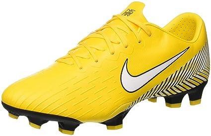1dea61838 Amazon.com  Nike Neymar Jr. Vapor 12 Pro FG Soccer Cleats (Yellow ...