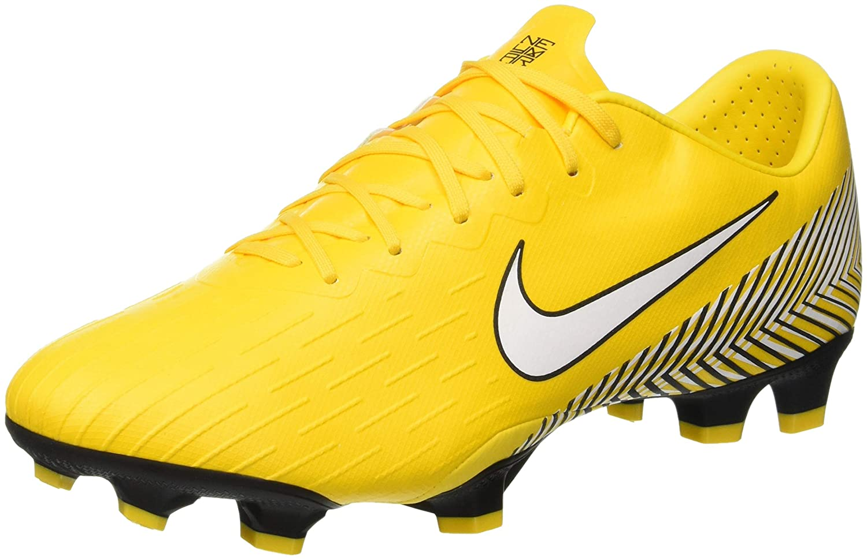 Nike Vapor 12 Pro NJR FG, Hausschuhe de Fútbol Unisex Adulto Gelb (Gelb Weiß schwarz 710)