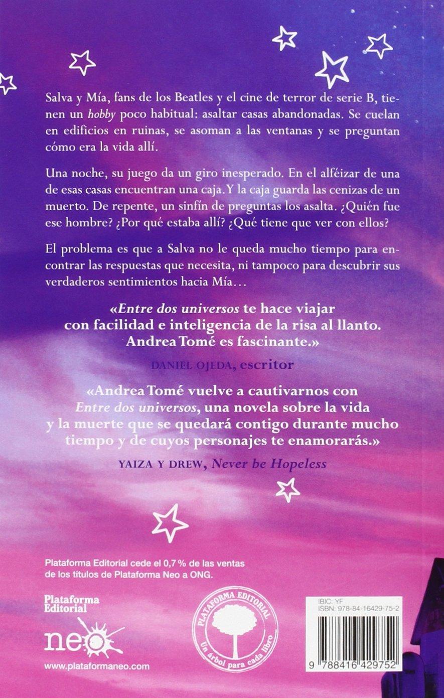 Entre Dos Universos: Amazon.es: María Andrea Tomé: Libros