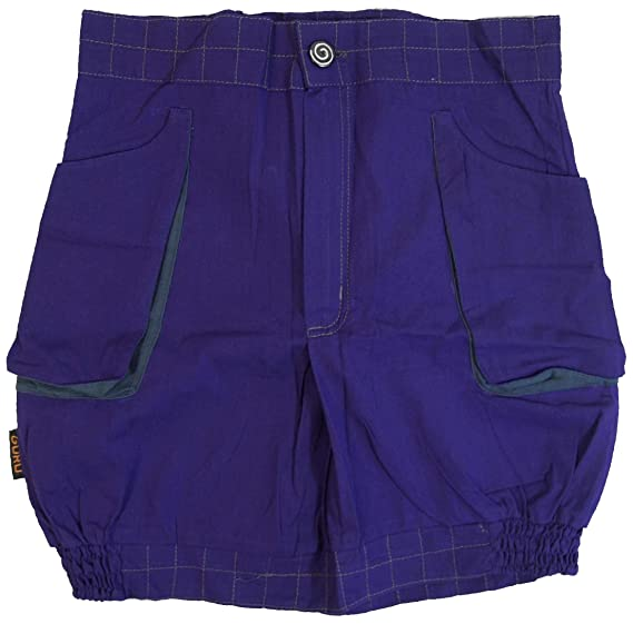 GURU-SHOP, Globo Falda Goa Falda - Púrpura, Violet, Algodón ...