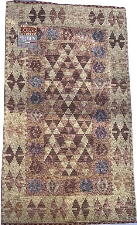 Alfombra de pasillo de terciopelo de algodón Kilim, 65 x 175 cm ...
