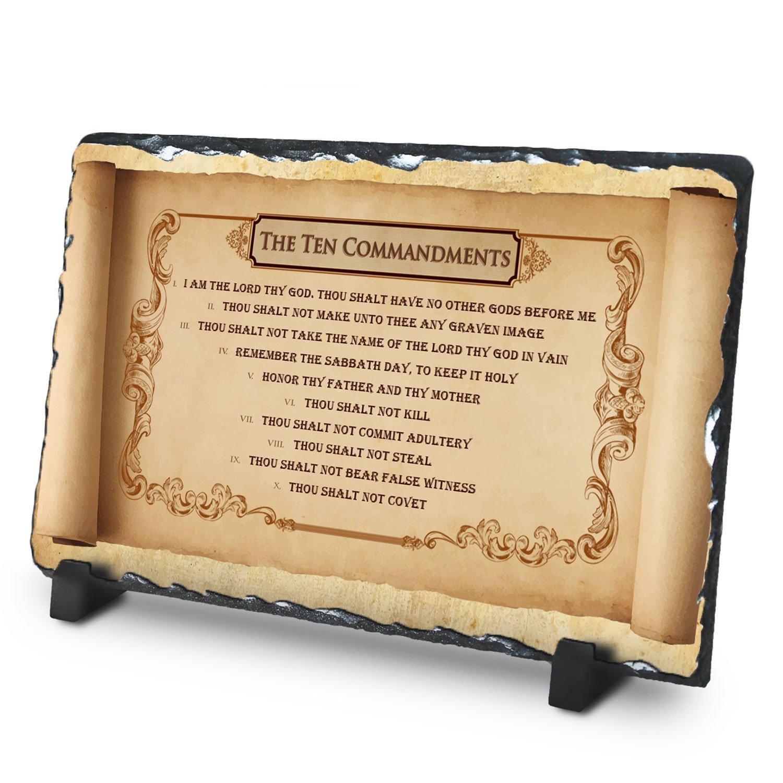 Amazon.com: The Ten Commandments  Superior Religious Inspirational ...
