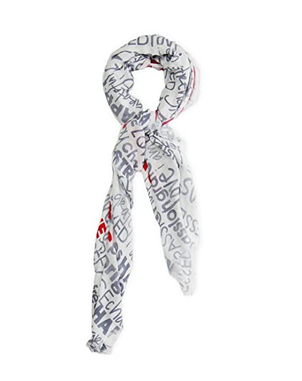 Peace Love World  Love Graphic Viscose Scarf O S White At Amazon Womens Clothing Store