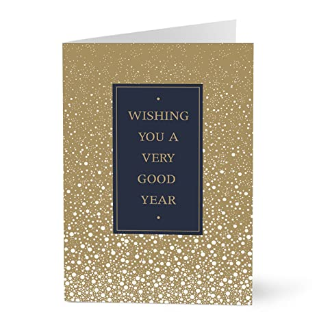 hallmark business new year cards for customers a new years wish pack of
