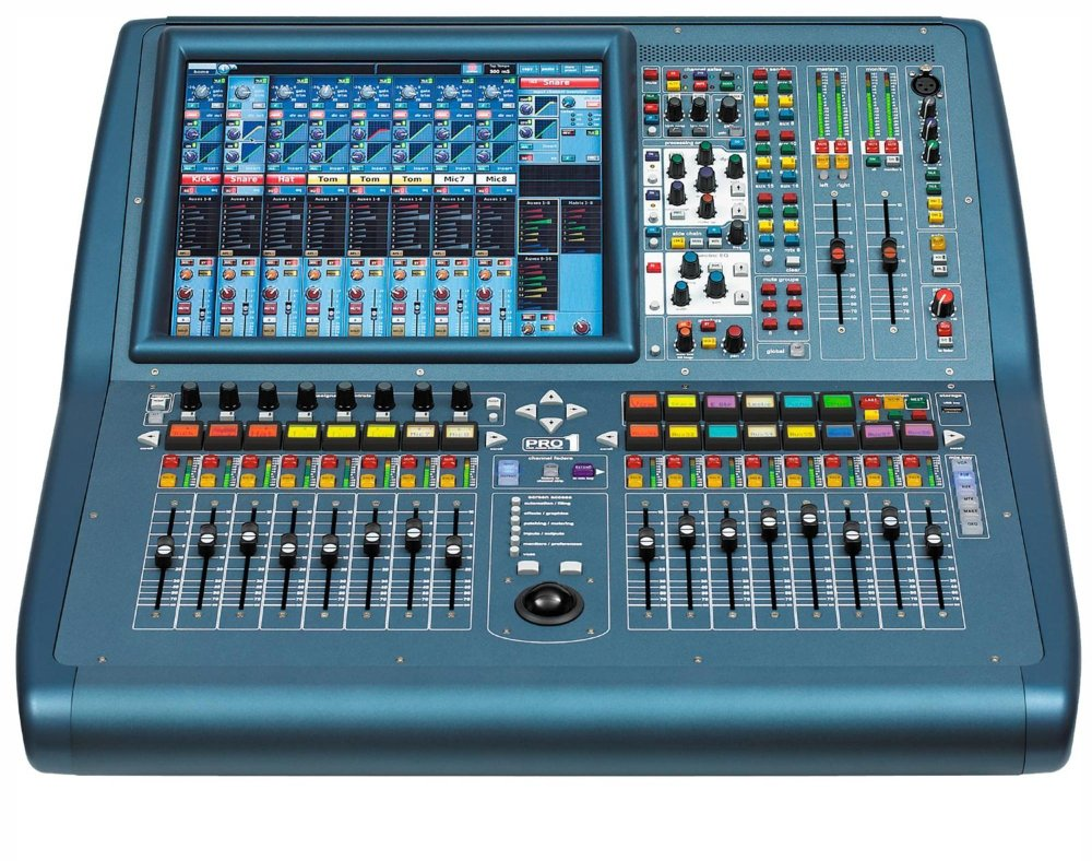 Midas Channel Digital Console PRO1IP