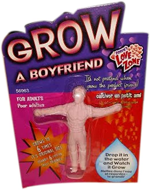 Funny Novelty Gift: Grow a Boyfriend