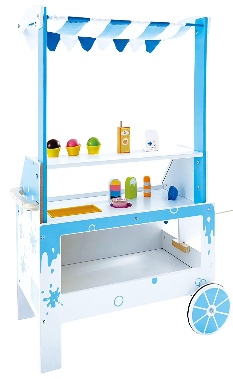 Amazon.com: Hape Award Winning Ice Cream Emporium Wooden Play ...
